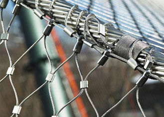 Arsitektur Multifungsi Wire Rope Mesh, Stainless Steel Wire Netting
