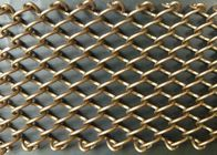 Professional Metal Coil Drapery / Lightweight Mesh Curtain Fireplace Screen