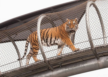 Cina 304 316 316L Stainless Steel Animal Enclosure Mesh Netting Aviary Zoo Mesh Fence pabrik